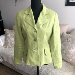 Woman's Blazer - Size 4 - Light Green